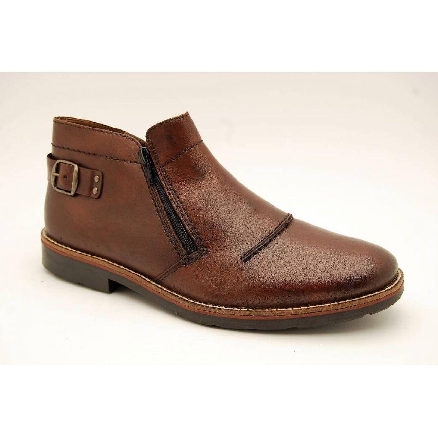 RIEKER brun varmfodrad boots