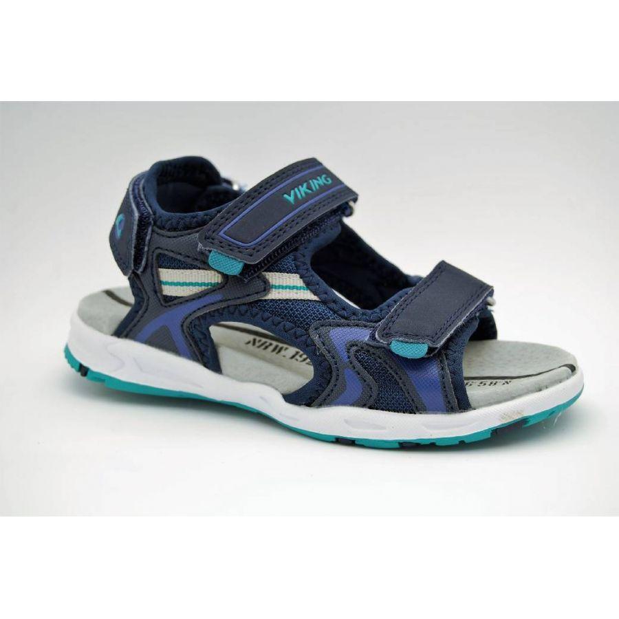 9607208838f6 Anderbergs skor - VIKING blå sandal