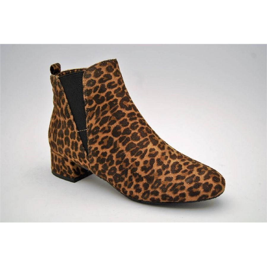 DUFFY leopard boots