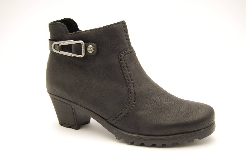 svart klack RIEKER skor boots Anderbergs Hn6xpWE 04443fb4cb8ca