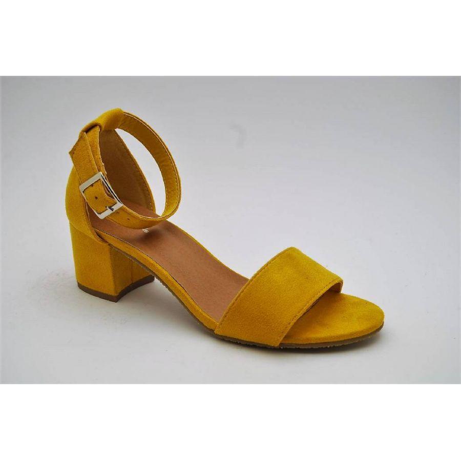 DUFFY gul sandalett