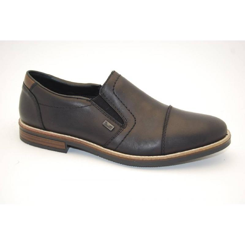 RIEKER svart loafer