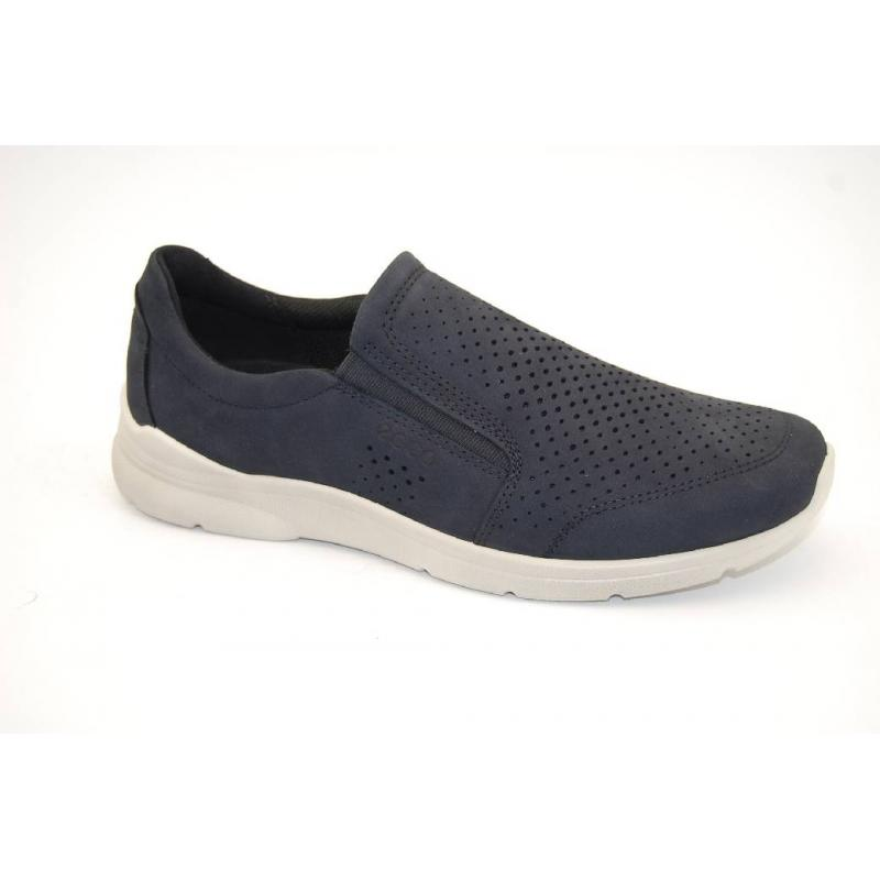 ECCO navy IRVING loafer