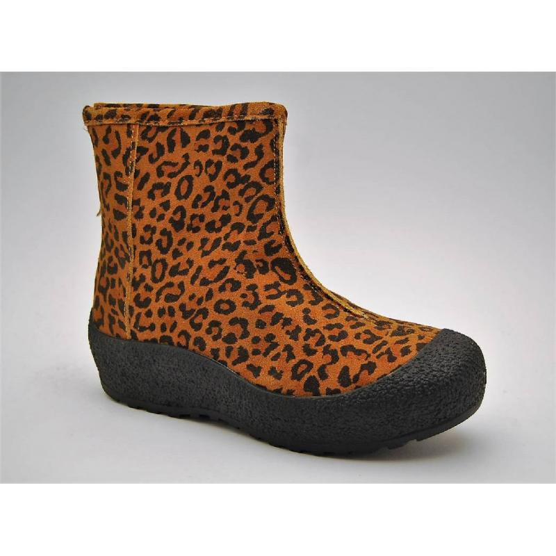 DUFFY leopard curlingkänga
