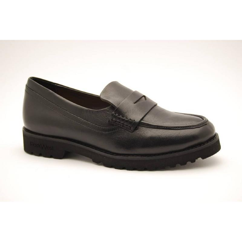 PARK WEST svart loafer